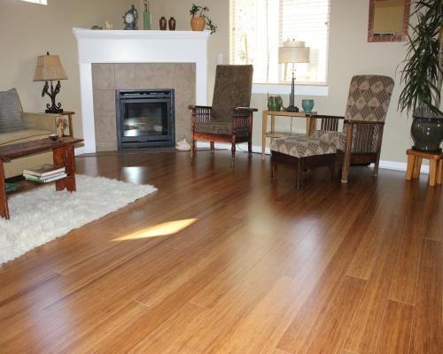 Sàn tre tự nhiên lưu giữ nét truyền thống.
