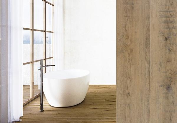 sàn nhựa giả gỗ lát phòng tắm