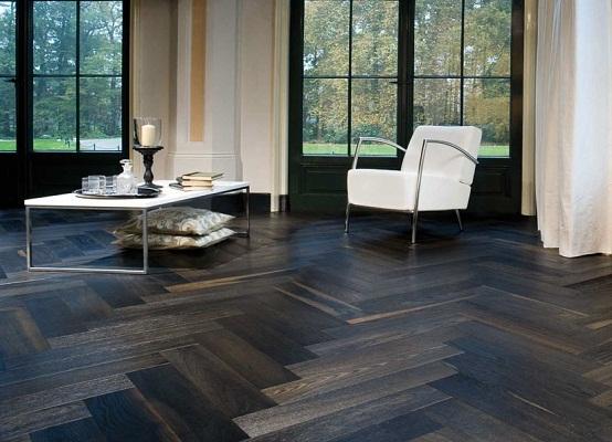 gỗ chiu liu làm sàn nhà